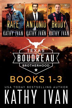 Cover for Texas Boudreau Brotherhood: Books 1 - 3