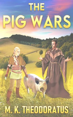 Cover for The Pig Wars